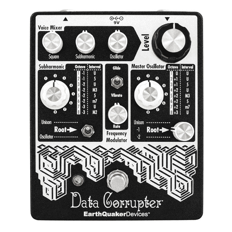 EarthQuaker Devices Data Corrupter Guitar Synthesizer Guitar Pedal