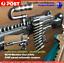 Machine-Gun-keychain-M249-Keychain-PUBG-M249-SAW-Machine-Gun-Keyring-Machinegu thumbnail 1