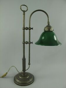 Bankerleuchte Jugendstil Bankerlampe Tischlampe Schreibtischleuchte Bürolampe