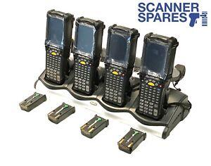 Lot-of-4-Symbol-Motorola-MC9090-GJ0HJEFA6WR-LORAX-Long-Range-WM5-Dock-amp-Warranty