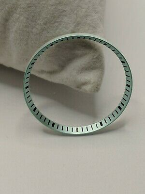 Blue Stainless Steel Chapter Ring for Seiko SKX007 009 w// black Index L311