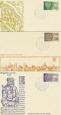 Poland FDC (Mi. 2416-18) Silesian  Piast #3