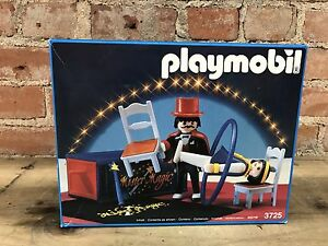 Vintage Playmobil 3725 Mister Magic Set