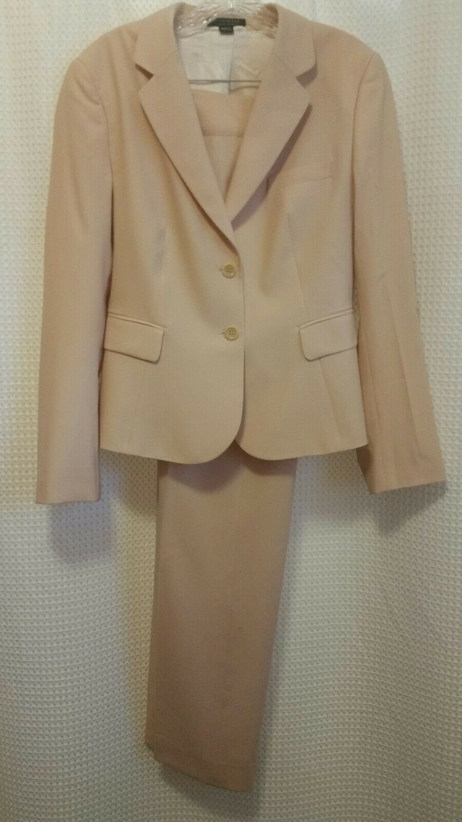 STRENESSE Pale Pink 2 Piece Lined Pant Suit Size 8