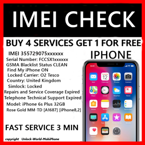 Check Iphone Carrier By Imei Online Free FREE iPhone CARRIER