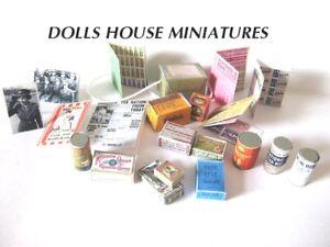 Casa De Muñecas Miniaturas Bebé Niño Niña artículos adicionales libre de envío y manipulación