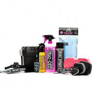 muc off ultimate road mountain mtb bike cycle cycling cleaning cleaner kit ebay. Black Bedroom Furniture Sets. Home Design Ideas