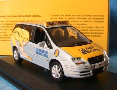 Fiat ulysse crotit lyonnais tour de france 2003 norev 772011 1   43 tdf cl
