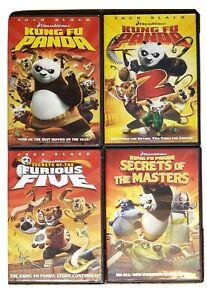 Kung Fu Panda Dvd Bundle 2008 Kfp 1 2 Furious Five Secrets Of The Masters Ebay