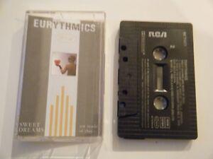 EURYTHMICS-SWEET-DREAMS-CASSETTE-TAPE-ALBUM-RCA-1983