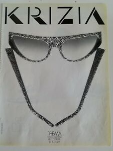 5211b8c50366 1987 krizia women s Vintage Sunglasses fashion ad