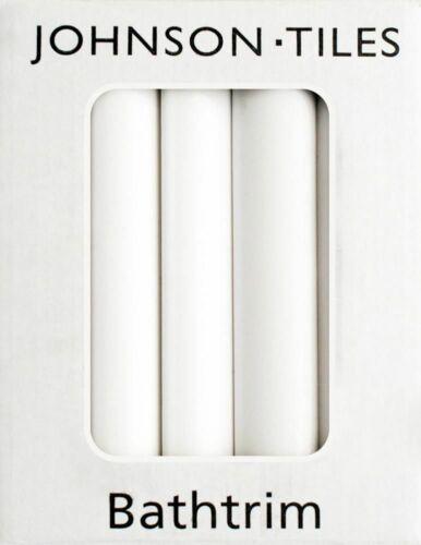 bain Trim Johnsons cristal PRG1 Céramique Bain Seal Trim Set Blanc Brillant Quadrant
