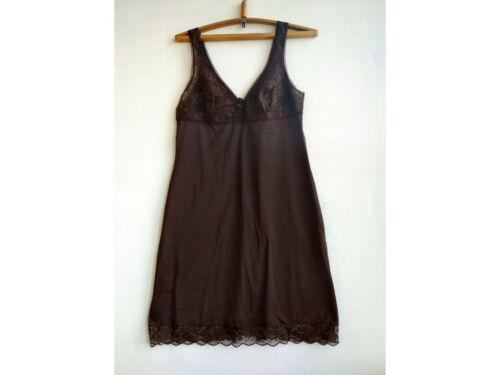 VTG Underdress size L Lace Lingerie Underwear Brow