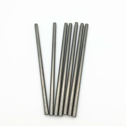 KLOT 10pcs TUNGSTEN Solid Carbide Round Rod 0.5mm-2.5mm X 100mm Lathe Bar K10
