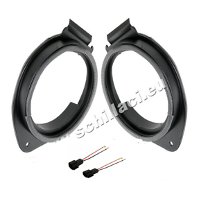 connettori  per Opel Meriva B anteriori//p Adattatori altoparlanti Casse 165 mm