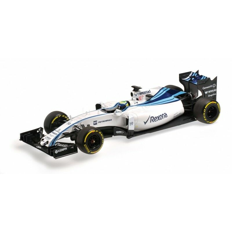 Williams Martini Racing Mercedes FW37 Felipe Massa  MINICHAMPS DIECAST