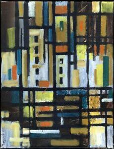 Chudinovskikh-Russischer-Expressionist-Ol-Leinwand-Abstrakt-62x48-cm