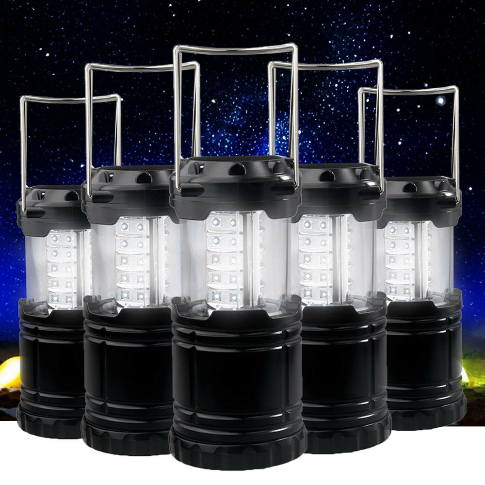 Ultra Bright Portable 30 LED Collapsible Camping Lantern Light Tent Lamp