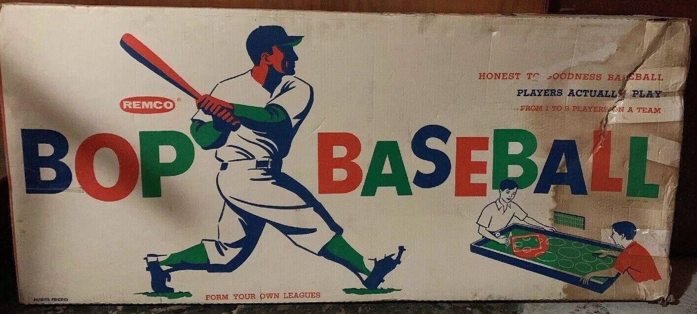 Vintage REMCO BOP BASEBtutti Party gioco w  scatola ORIGINALE Completo
