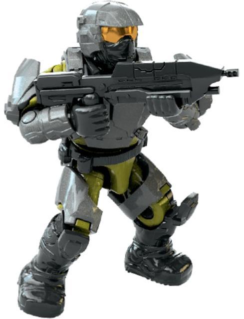 NEW /& SEALED MEGA Construx Halo Blue Spartan Mark IV Battle for the Ark figure