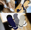 1 Pairs Men Casual Cotton Loafer Boat Non-Slip Invisible Low Cut No Show Socks