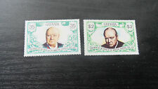 GRENADA 1974 SG 637-638 BIRTH CENTENARY OF WINSTON CHURCHILL MNH