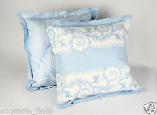 DRESS YOUR HOME IN VERSACE BLUE WHITE BAROQUE PILLOWS