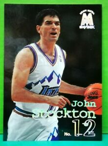 John Stockton regular card 1998-99 Skybox Molten Metal #111