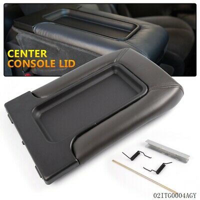 Center Console Lid Kit Arm Rest Latch for 99-07 GM Chevy OEM Part 19127364 NEW