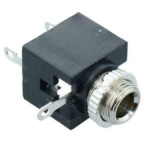 10-x-2-5mm-Mono-Miniature-Audio-Jack-Socket-Connector