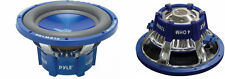 "NEW (2) 10"" DVC SubWoofer Speakers.dual 4ohm voice coil.ten inch bass PAIR.10in"