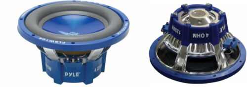 """NEW 2 10/"""" DVC SubWoofer Speakers.dual 4ohm voice coil.ten inch bass PAIR.10in"""
