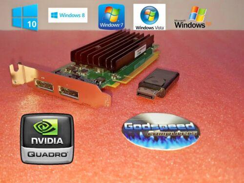 HP Compaq 8100 Elite NVIDIA SFF Dual Displayport Video Card HDMI Adapter