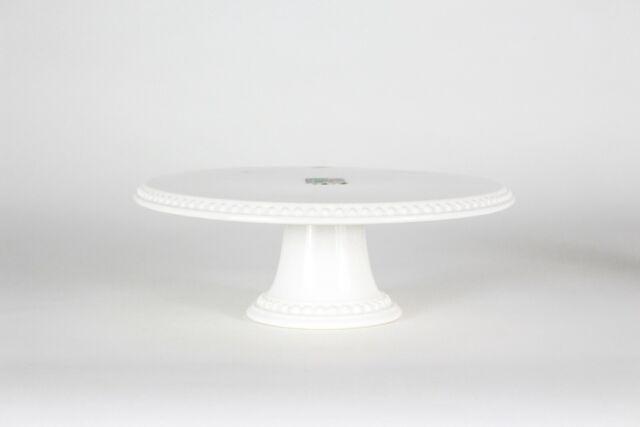 Wilton White Ceramic Pedestal Cake Stand For Sale Online Ebay