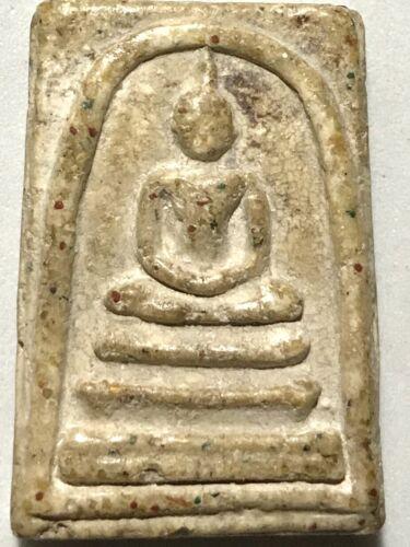 PHRA SOMDEJ LP RARE OLD THAI BUDDHA AMULET PENDANT MAGIC ANCIENT IDOL#239