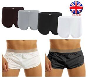Men Mesh Breathable Underwear Shorts Briefs Boxers Trunks Underpants Swimwear UK