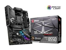 MSI MPG B550 GAMING EDGE WIFI AM4 AMD B550 SATA 6Gb/s ATX AMD Motherboard