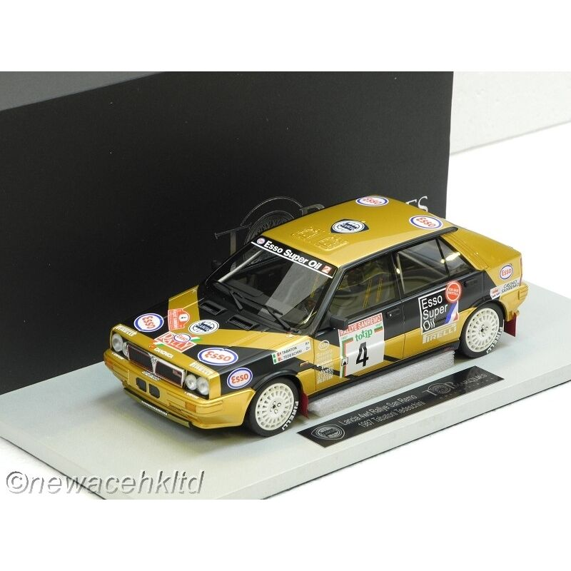 LANCIA DELTA HF 4WD  5th Rally Sanremo 1987 TOP MARQUES MODEL 1/18  TOP24F