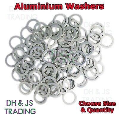 M26 Aluminium Sealing Washers Metric Flat Seal Washer 26MM Seal Washers