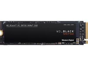 Western Digital WD BLACK SN750 NVMe M.2 2280 1TB PCI-Express 3.0 x4 64-layer 3D