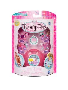 Twisty Petz Babies 4-Pack Marley  /& Harley UNICORNS Ruffles /& Truffles PANDAS