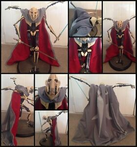 Star-Wars-Custom-034-Cloak-Only-034-for-General-Grievous-Sideshow-for-1-6-scale-Statue