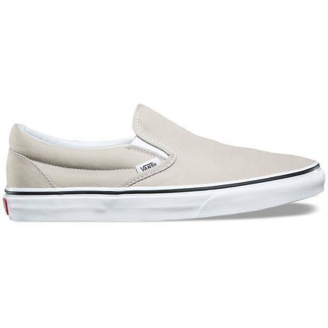 Vans Off The Wall Classic sin en Plata Forro blancoo Zapatos Hombre 13