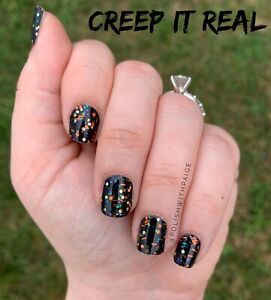 NEW Color Street Nail Strips Creep it Real (halloween ...