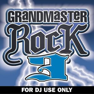 Mastermix-Music-Factory-Grandmaster-Rock-Vol-3-DJ-Megamix-Mixed-Party-CD