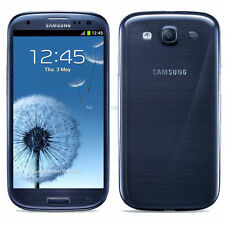 "4.8"" Unlocked Samsung Galaxy S3 S III I9300 Android OS Smartphone 16GB Blue"