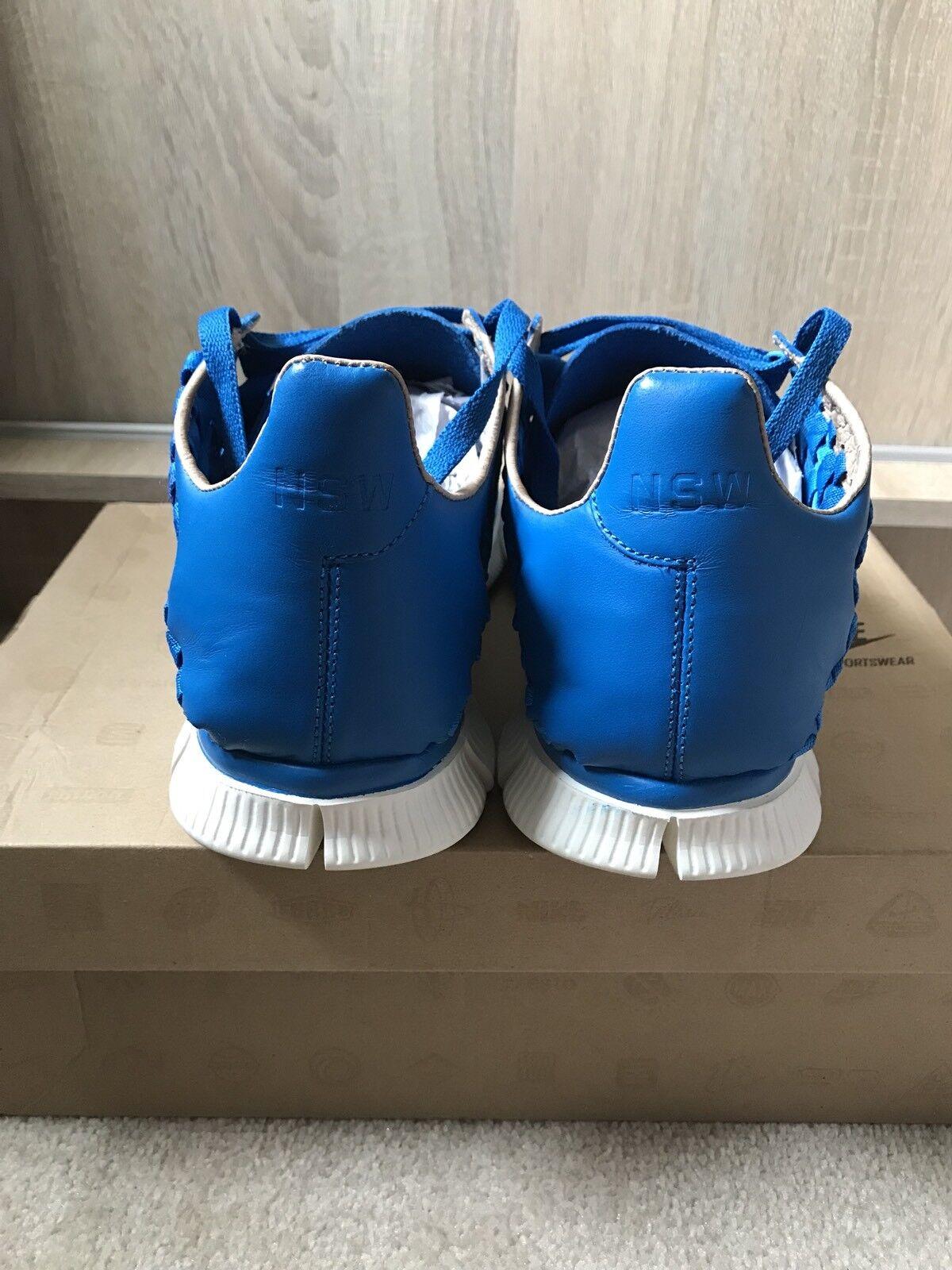 Nike Inneva Inneva Inneva Tejido SP-Reino Unido Free 10 EE. UU. 11-Tier Zero-Foto Azul-NRG c61331