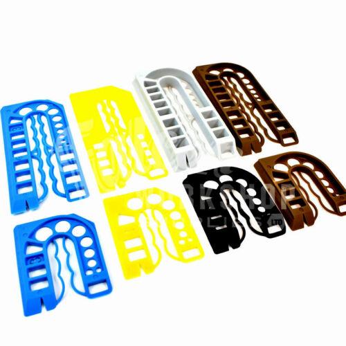 200 couleurs mélangées plastique d/'emballage cales-cadre de fenêtre packer spacer paka-widget
