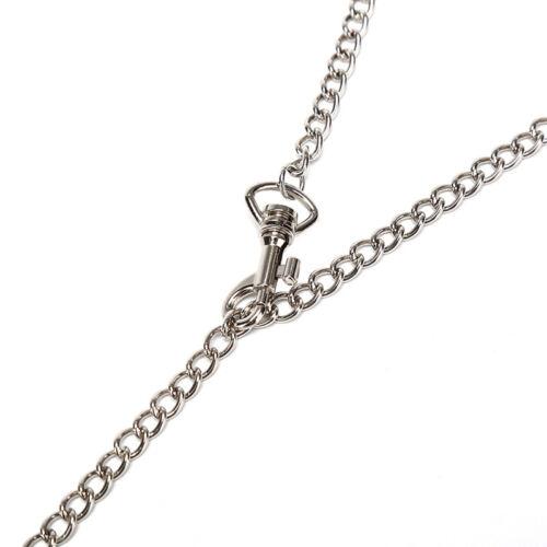 Gothic Choker Punk Necklace Chain Hollow Round Rings Pendant Women Men JewelryIJ