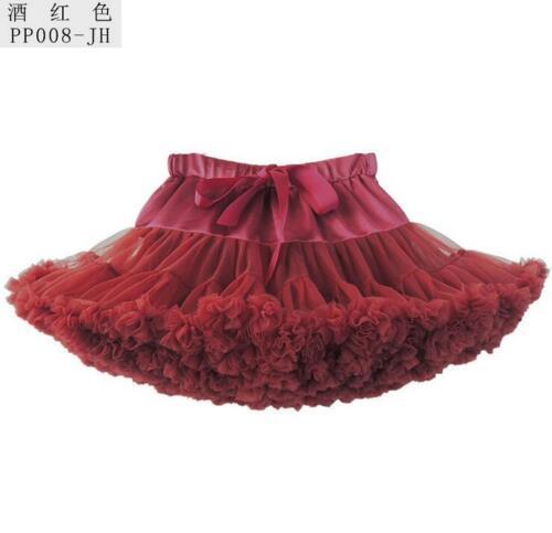 Hot 2019 Tutu Skirt Adult Women/'s Teenage Ballet Dance Party Fluffy underskirt
